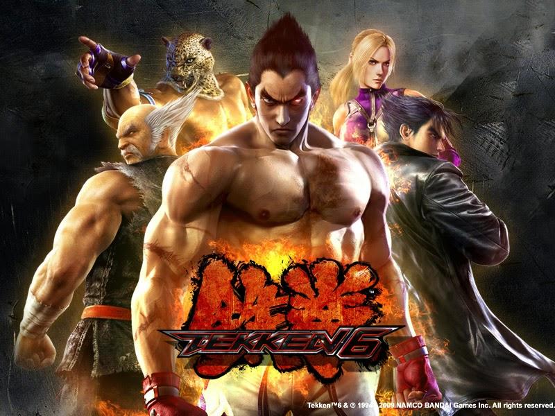 tekken 6 bloodline rebellion psp download