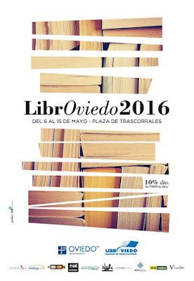 Cartel de LibrOviedo 2016