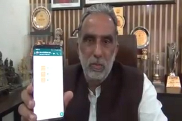 central-minister-for-state-krishan-pal-gurjar-video-viral-faridabad