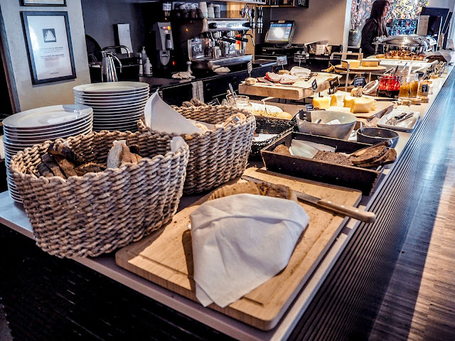 Breakfast - bread selection at Ibsens Hotel, Copenhagen