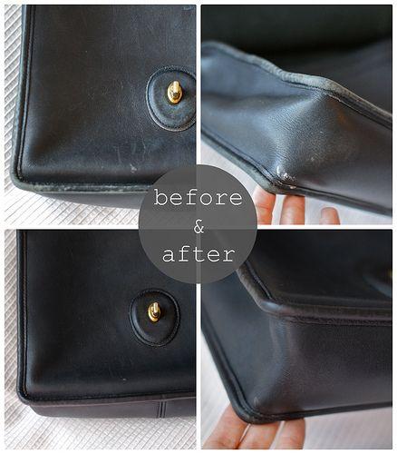 Franish  restoring a leather purse 7207de9a848c0