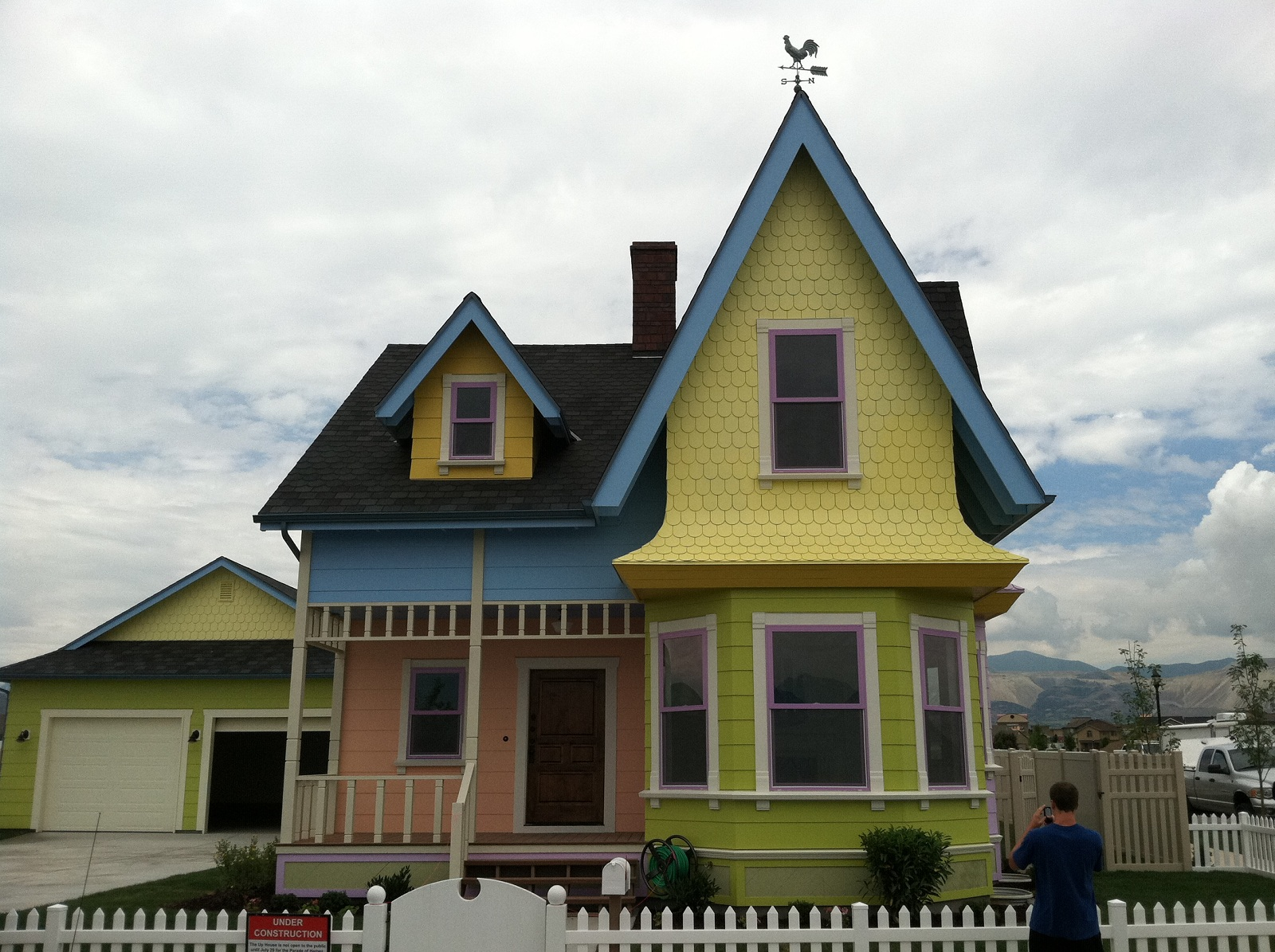 Disney at Heart: UP House