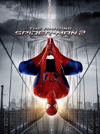 Poster Of The Amazing Spider-Man 2 In Dual Audio Hindi English 300MB Compressed Small Size Pc Movie Free Download Only At worldfree4u.com