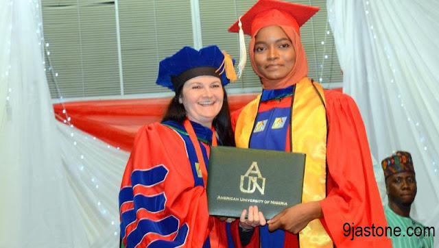 Minister's daughter graduates top of her class at AUN