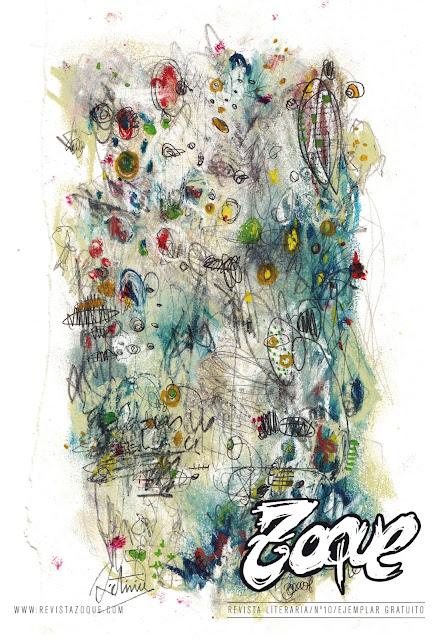 Cubierta de la revista literaria Zoque número 10