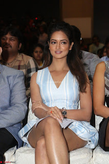 Shanvi Looks super cute in Small Mini Dress at IIFA Utsavam Awards press meet 27th March 2017 81.JPG