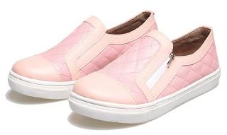 Sepatu Anak Perempuan  Pakai Resleting BDL 344