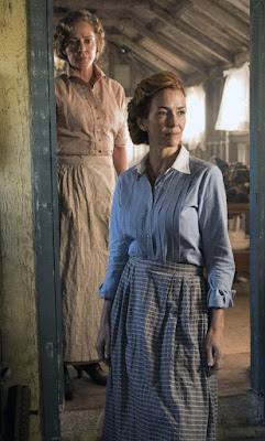 Anne Wersching and Susanna Thompson in Timeless Season 2