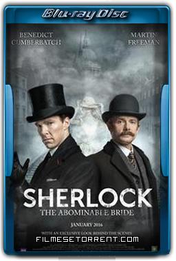 Sherlock A Abominável Noiva Torrent 2016 720p e 1080p BluRay Dublado