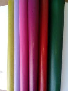 papel kraft color cara interior plastificada