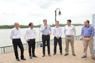 La Nación le cederá a Campana los predios del ferrocarril para hacer la nueva costanera