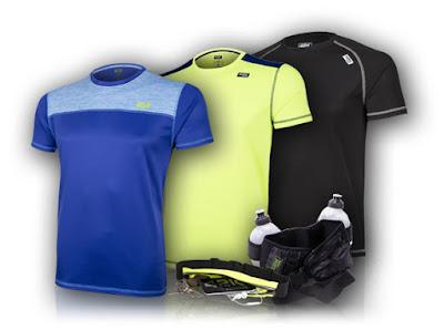 camisetas deportivas y complementos de running
