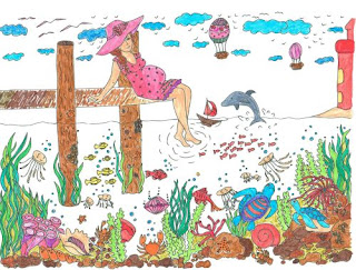 ausmalbücher für erwachsene: landschaften - strand und meer zum ausmalen und relaxen