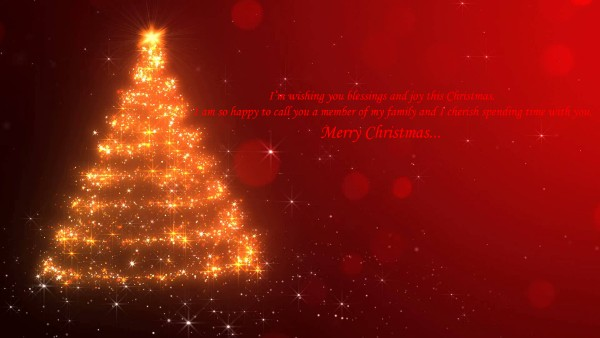 Navidad greetings for your family