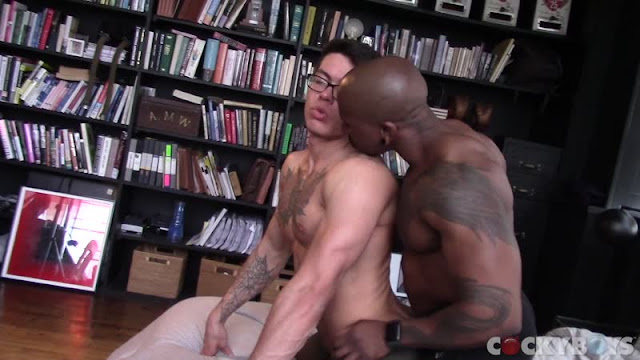 Cockyboys - Clark Davis & Max Konnor have a bit of of a quick Fuck!