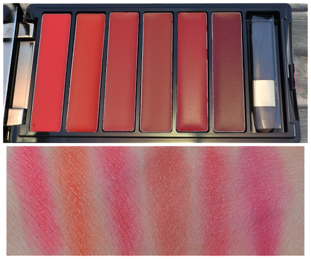 L'oréal color riche la palette lips red Swatches