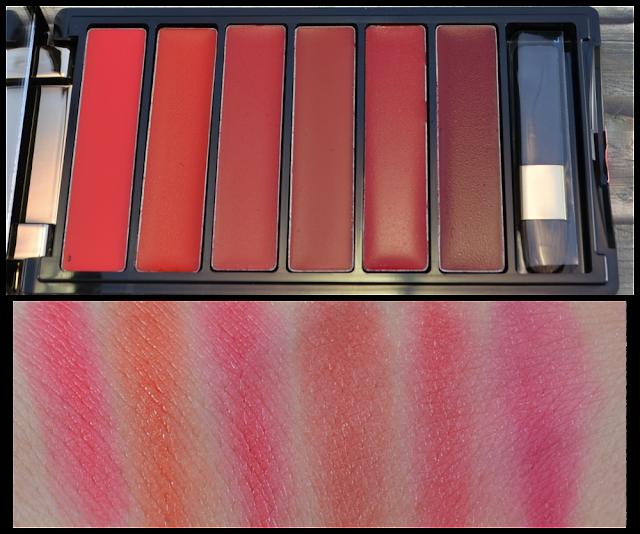 L'oréal color riche la palette lips red Swatches