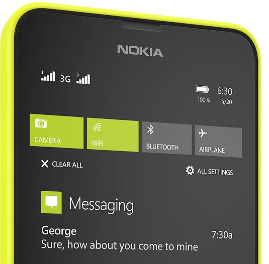 spesifikasi Microsoft Lumia 630 dual sim