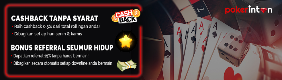 Pokerintan Hadir 8 Games Terbaik se Indonesia | Cashback 0.5% | Referral 15 % Pokerintan-slideshow2