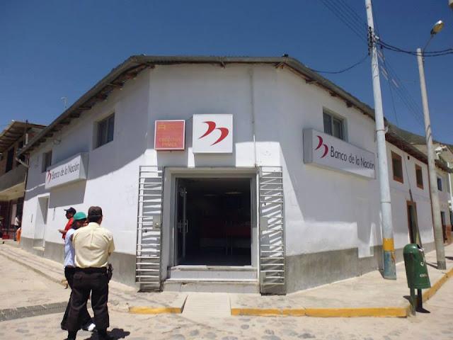 Resultado de imagen para Banco de la Nación Cabana Sur fotos