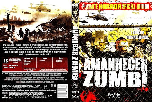 Capa DVD Amanhecer Zumbi