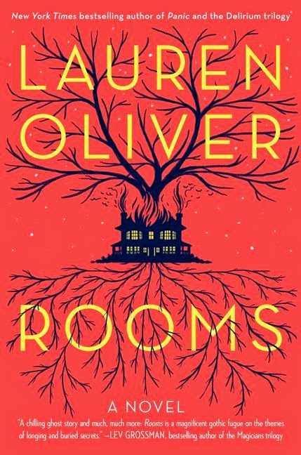 2014 Debut Author Challenge Update - Rooms by Lauren Oliver