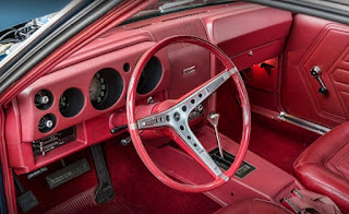 1968 AMC AMX Sports Coupe Dashboard