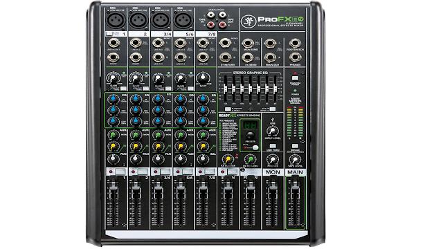 Spesifikasi Mixer Mackie ProFX8v2 8-Channel Professional