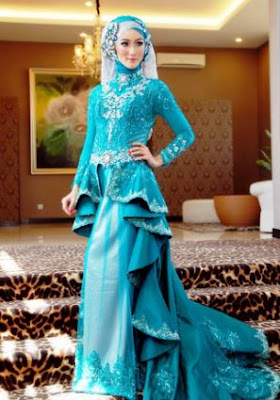 37+ Model Gaun Pesta Muslim Modern 2019 Syar'i - Model ...