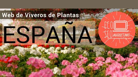 Proyecto Web Eco Seo Marketing - Viveros de Plantas de las Provincias de España
