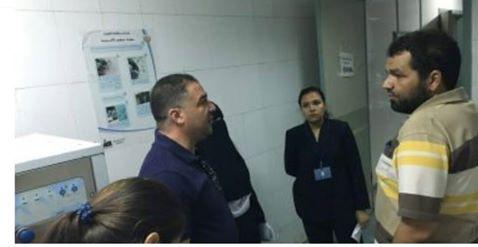 صحة بني سويف تظبط مخالفات بالمستشفيات ووحدة الغسيل الكلوي الخاصة ببني سويف.