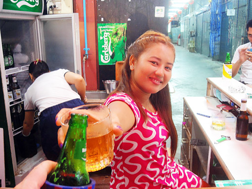 Nightlife in Thailand with bar girls hotels nightclubs and young