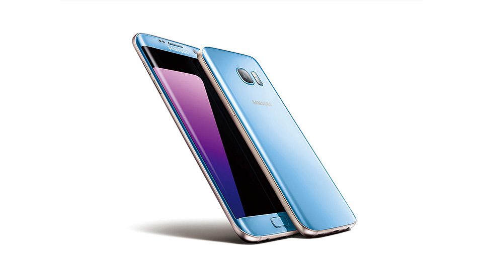 Samsung Announces Galaxy S7 Edge in Coral Blue