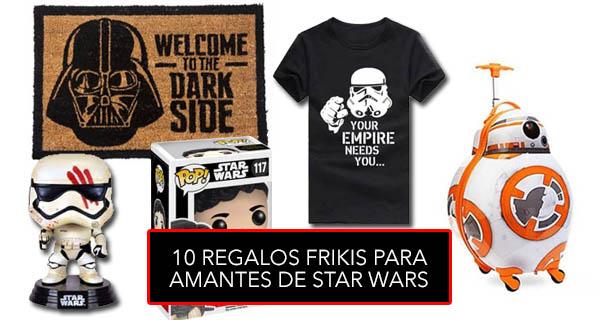 10 regalos frikis que encantarán a los amantes de Star Wars