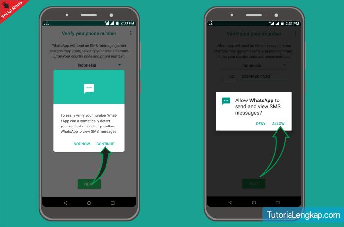Tutorialengkap cara membuat akun whatsapp terbaru 2019 dengan mudah disertai gambar
