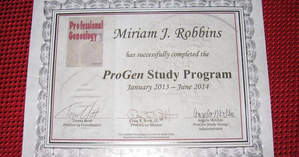 AnceStories: The Stories of My Ancestors: I\'m a ProGen Alumnus!