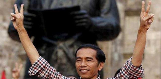 Jokowi Melawan Air Mata