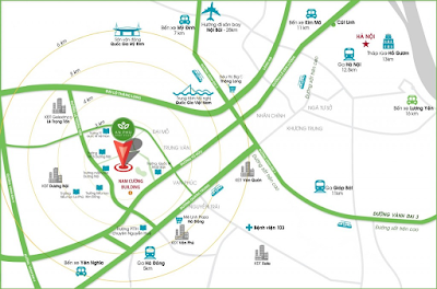 Vị trí dự án nhà phố thương mại An Phú Dương Nội