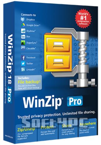 WinZip Pro 19.0 Build 11475 + Key