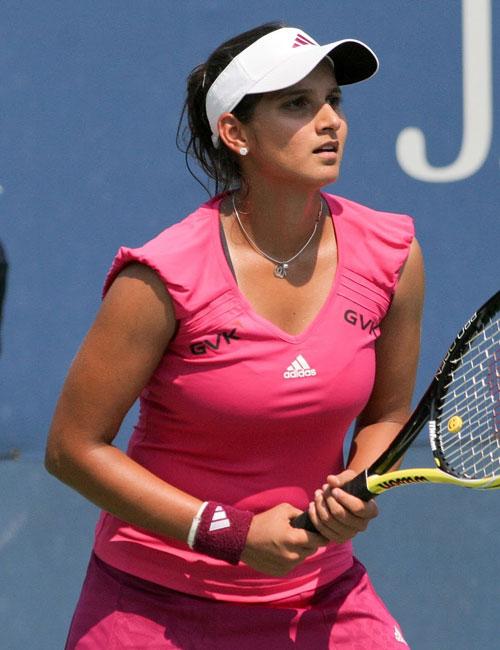 Free Wallpapers Top Indian Tennis Star Sania Mirza Photos-4788