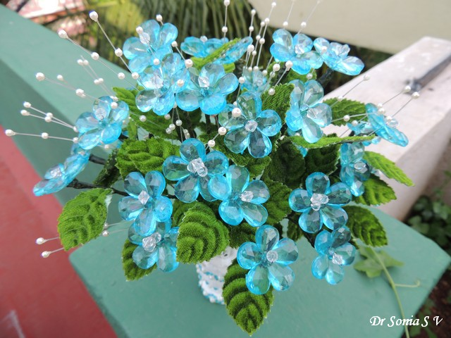 Cards ,Crafts ,Kids Projects: Crystal Flower Bouquet Tutorial