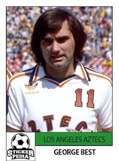 George Best Los Angeles Aztecs NASL United States
