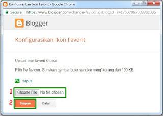 Cara Membuat Favicon di Blog Secara Online