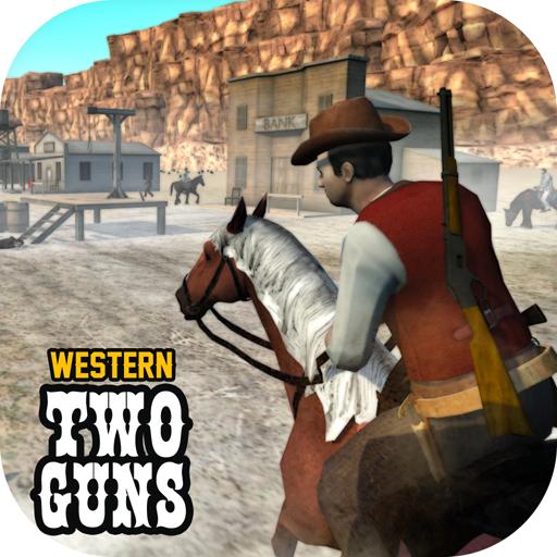 تحميل لعبه Western Two Guns مهكره وجاهزه