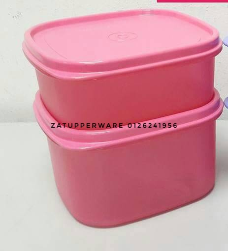 Tupperware Easy Pack (1) 1.2L (pink set)