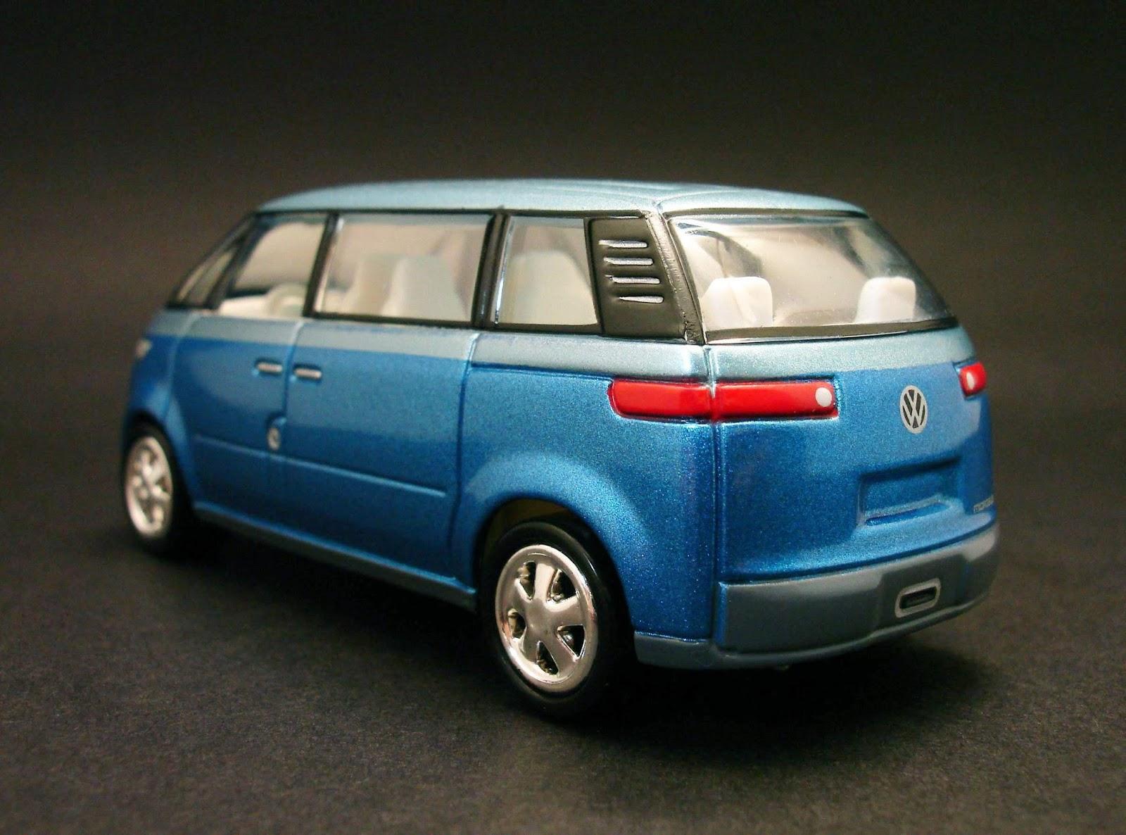 Diecast Hobbist: 2001 Volkswagen Concept Microbus