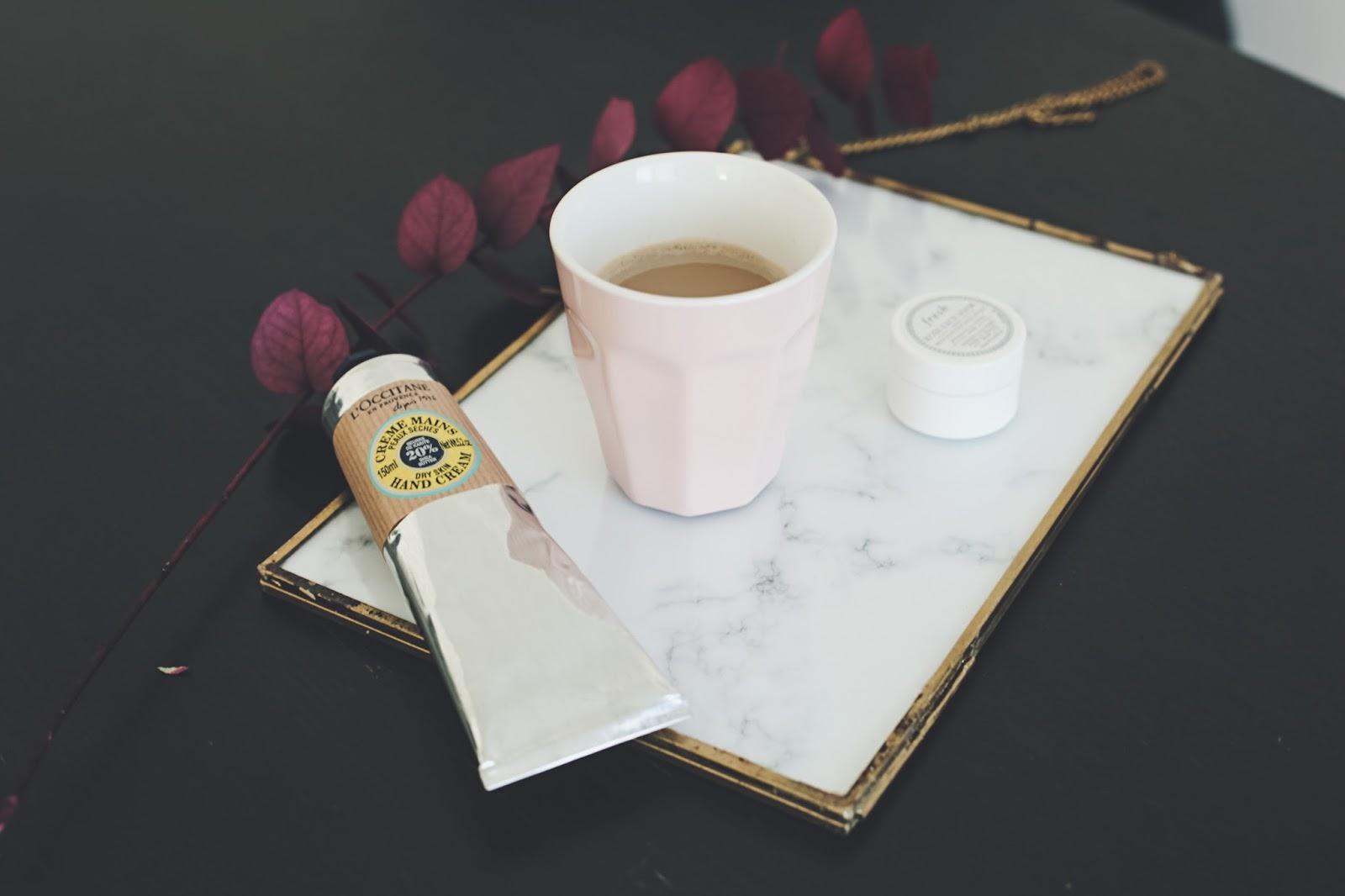 café lait d'amande rituel matin