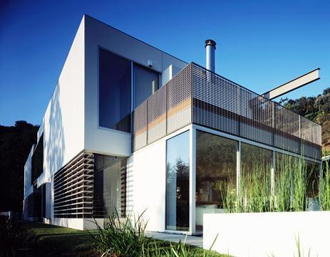 Casas innovadoras for Fachadas de casas modernas en italia