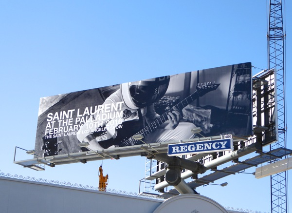 Saint Laurent Palladium 2016 billboard