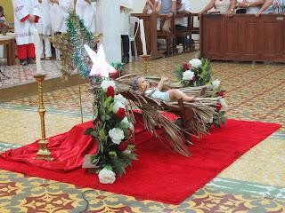 Imagens da Santa Missa de ano novo em Almino Afonso